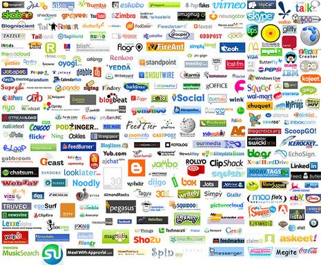 50 platafomas social media más populares