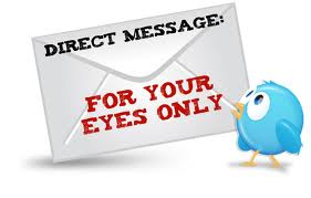 direct message La Formula de los Auto DM de Twitter